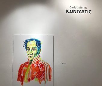 Carlos Molina / ICONTASTIC (Sep. 21 – Oct. 20, 2018)