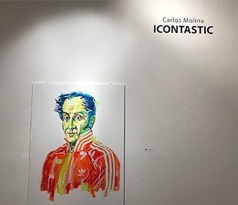 Carlos Molina / ICONTASTIC (Sep. 21 – Oct. 20, 2018)